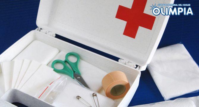 ¿Tienes listo tu botiquín de emergencia?