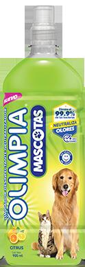 Olimpia Mascotas: desinfectante neutralizador de olores - Olimpia