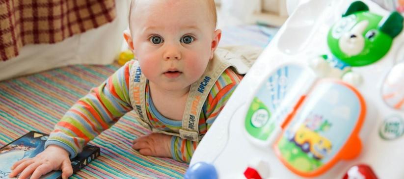 Como hacer la limpieza de la habitación de un bebé - Olimpia