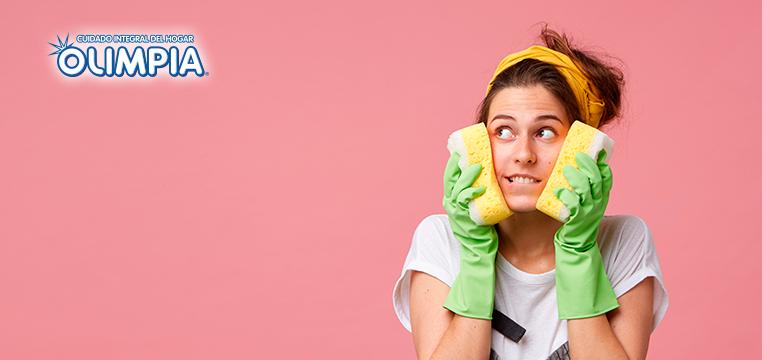 Mantener tu hogar libre de bacterias y mugre - Olimpia