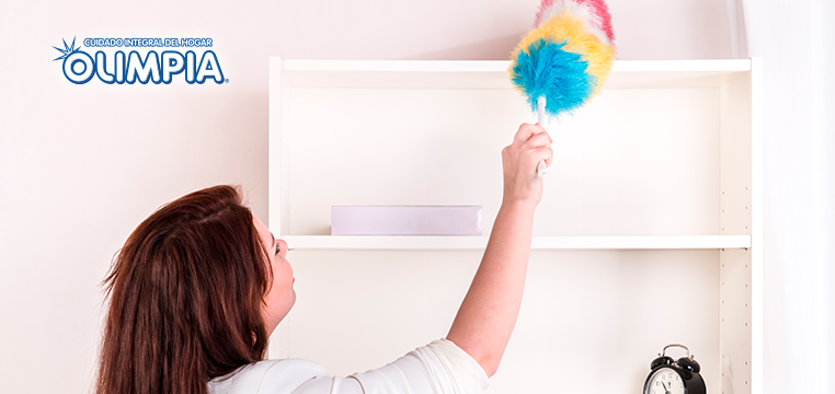 Mantener tu casa libre de polvo y consejos de cómo hacerlo - Olimpia
