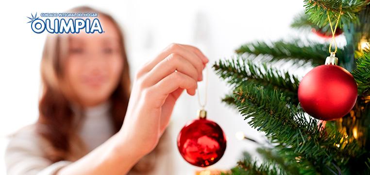 Crea el mejor árbol navideño - Olimpia