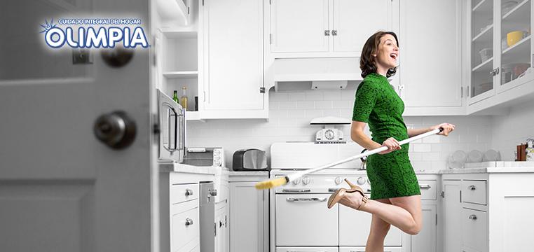 Ponle ritmo a la limpieza - Olimpia