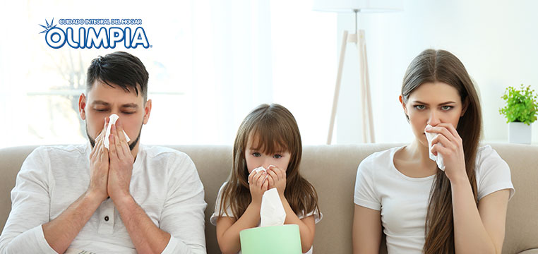 Evita que las enfermedades se apoderen de tu familia - Olimpia