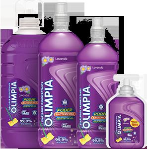 Olimpia Desinfectante Lavanda | Olimpia Ecuador